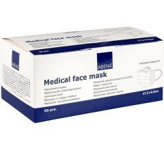Abena Mundschutz OP-Maske Typ 2R mit Gummiband 3-lagig 50 Stk. blau