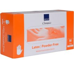 Abena Latex Einmalhandschuh 10x 100 Stk. weiß
