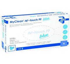 MaiMed Ni-Touch pf Nitrilhandschuhe 10x 100 blau
