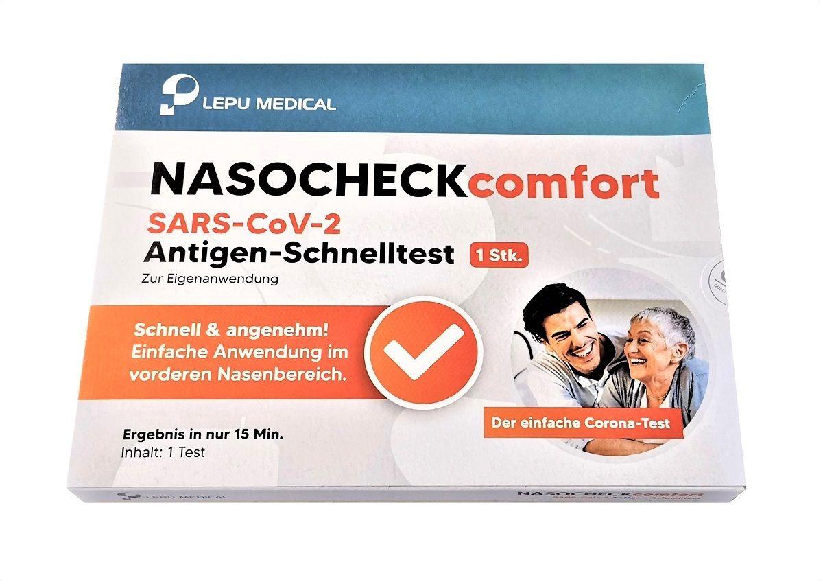 slide image LEPU SARS-CoV-2 NASOCHECK comfort Laientest