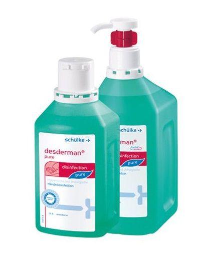 slide image Desderman Pure 1000 ml Hyclick System Flasche