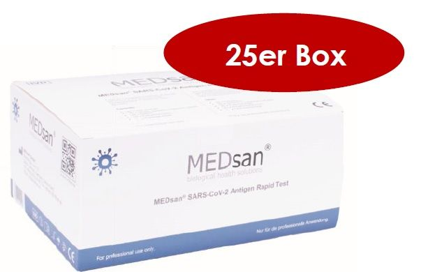 slide image MEDSan SARS-CoV-2 Antigen Rapid Test 25 Stk.